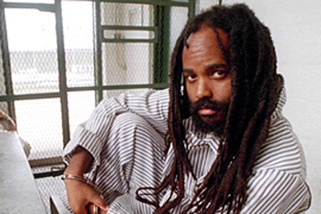 Mumia in his Cell
